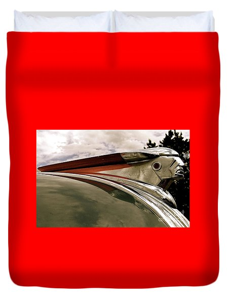 Pontiac Ornament  Duvet Cover