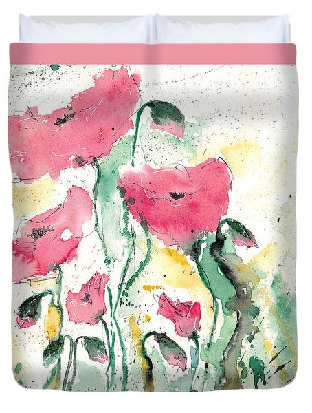 Poppies 10 Duvet Cover