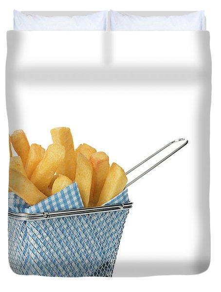 Portion Of Chips Duvet Cover