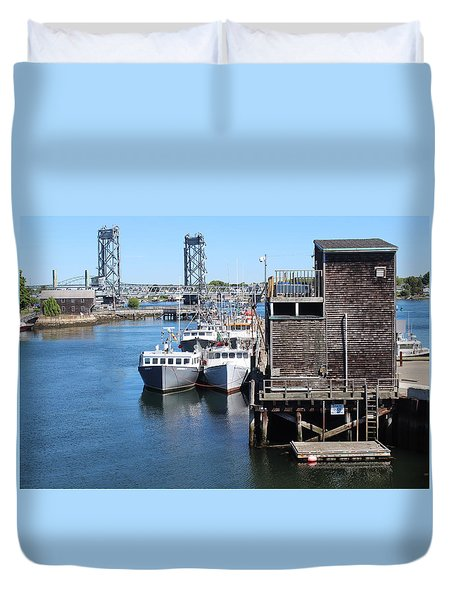 Portsmouth Nh  Duvet Cover
