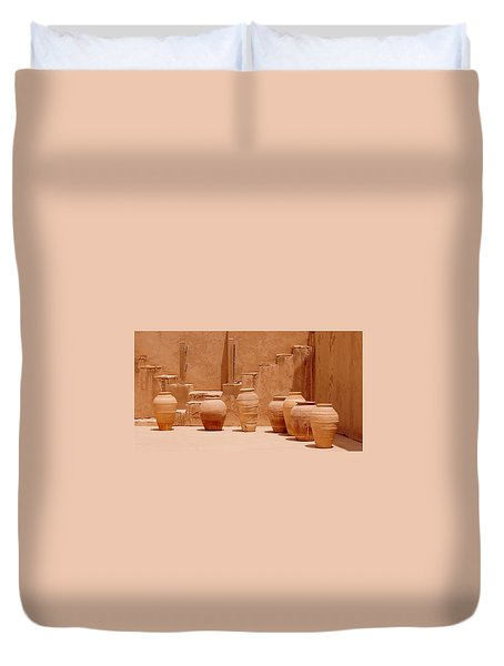 Pots Duvet Cover