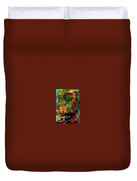Power Of  Colour Duvet Cover