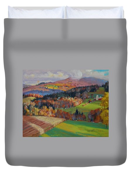 Pownel Vermont Duvet Cover