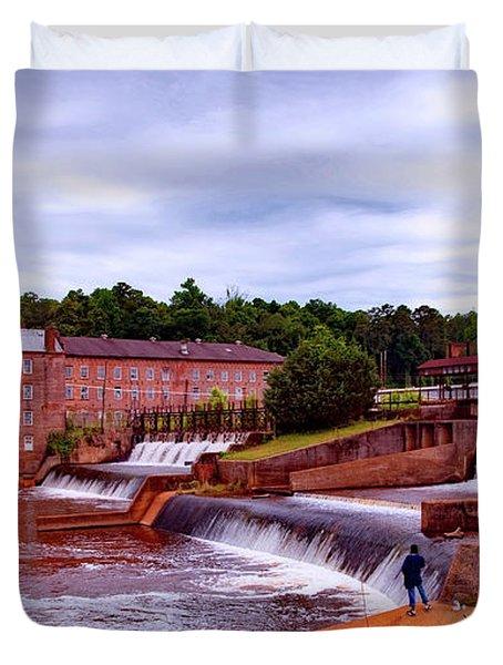 Prattville Alabama Duvet Cover by L O C
