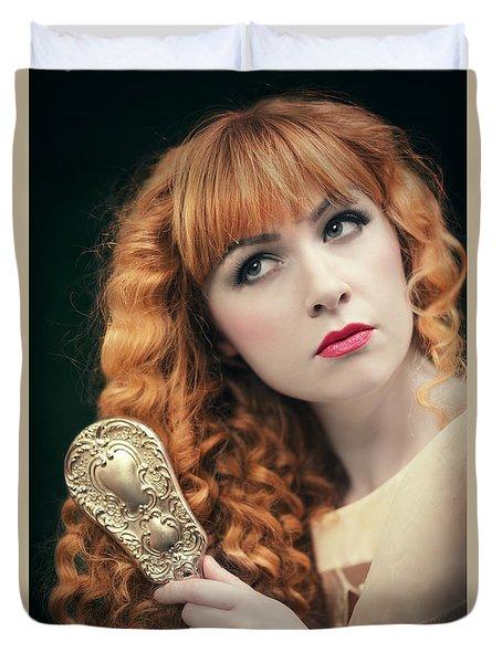 Pre-raphaelite Beauty Duvet Cover