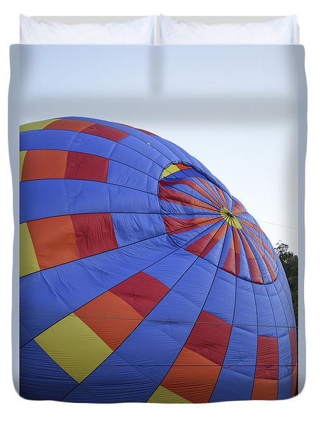 Preparing For Lift Off Duvet Cover