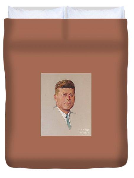 President John F. Kennedy Duvet Cover