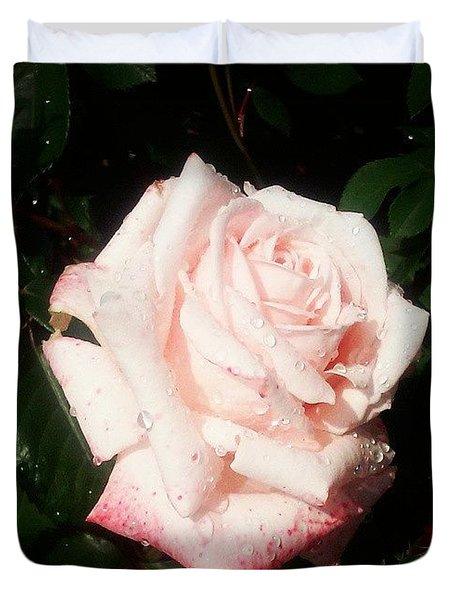 Pretty! ❤ #flower #nature #pink Duvet Cover