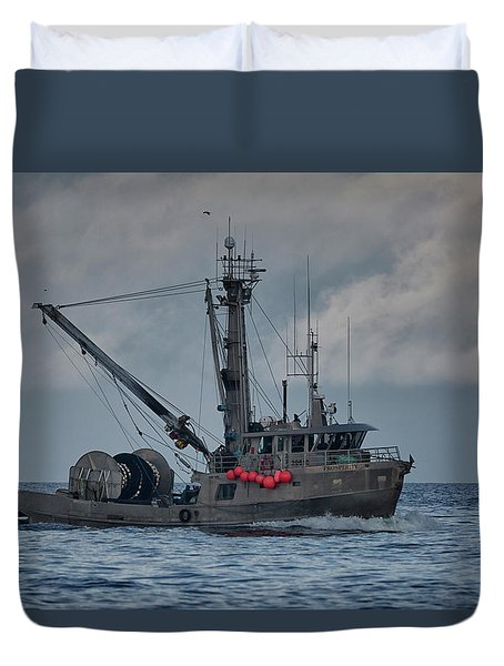 Duvet Cover featuring the photograph Prosperity by Randy Hall