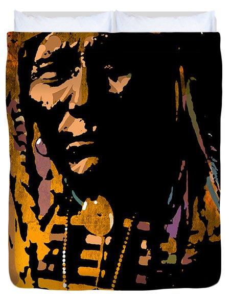 Proud Chief Duvet Cover