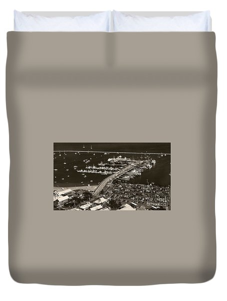 Duvet Cover featuring the photograph Provincetown  by Raymond Earley