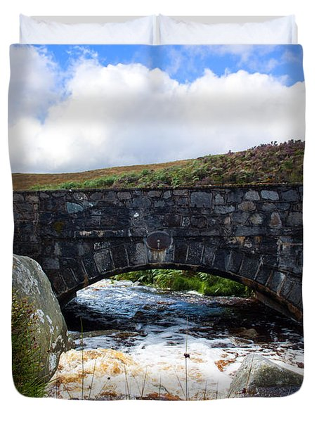 Ps I Love You Bridge In Ireland Duvet Cover