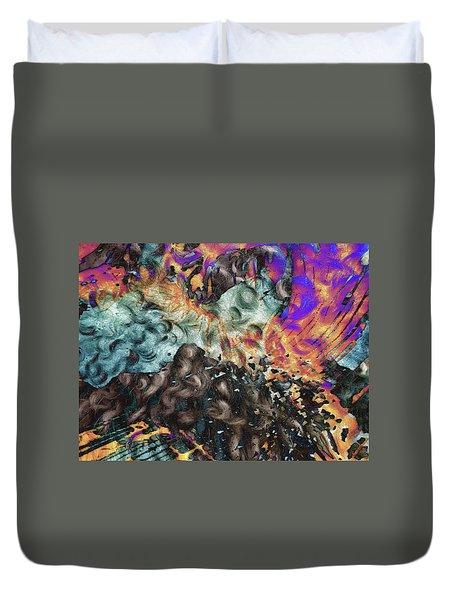 Psychedelic Fur Duvet Cover