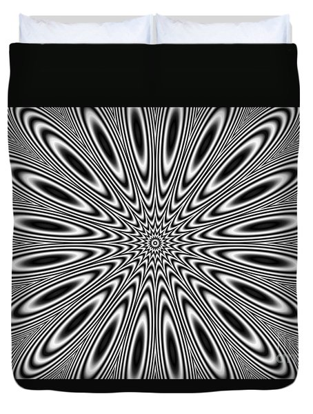 Pulsar Duvet Cover by Michal Boubin