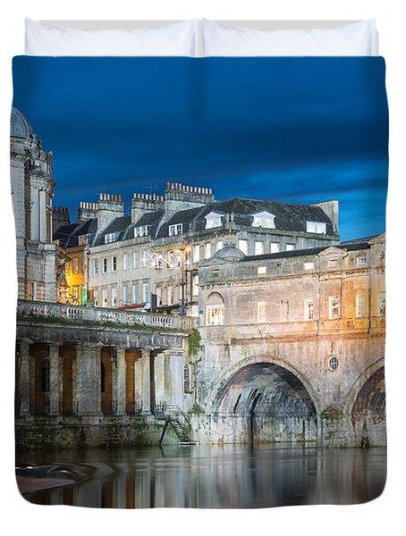 Pulteney Bridge, Bath Duvet Cover