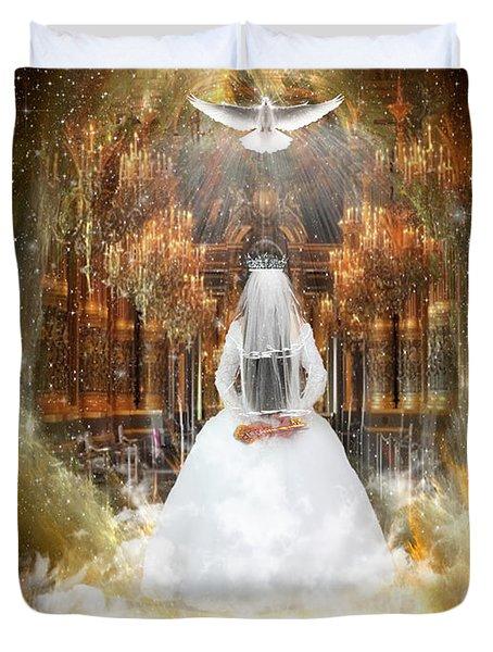 Pure Bride Duvet Cover