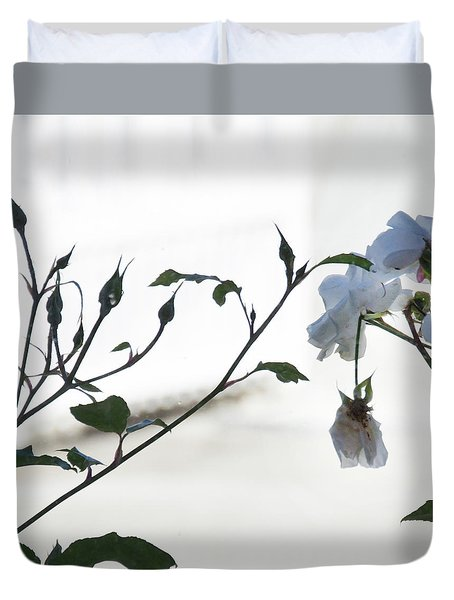 Duvet Cover featuring the photograph Pure by Jocelyn Friis