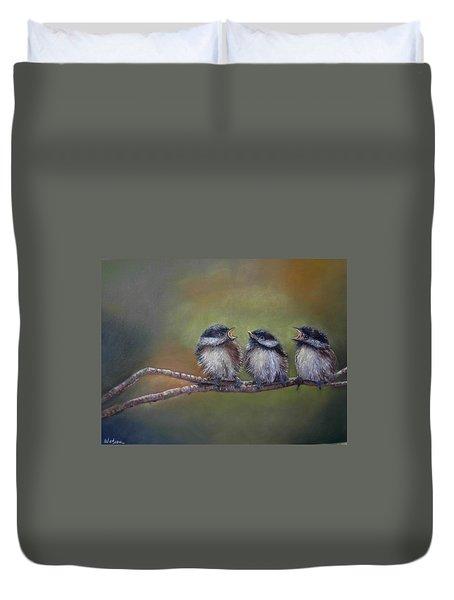 Quarelling Duvet Cover