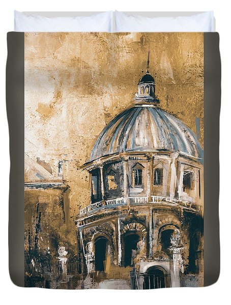 Radcliffe Camera, Oxford City 195 3 Duvet Cover