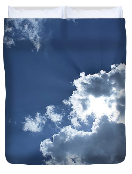 Duvet Cover featuring the photograph Radiance by Megan Dirsa-DuBois