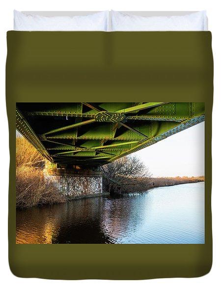Railway Bridge Duvet Cover