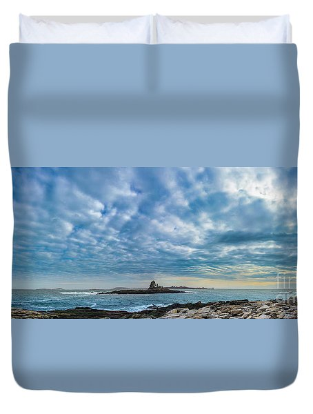 Ram Island Light Duvet Cover