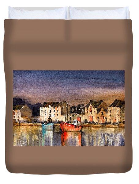 Ramelton Dusk, Donegal. Duvet Cover
