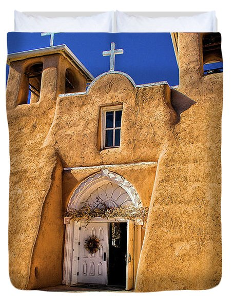 Ranchos De Taos Church  Duvet Cover
