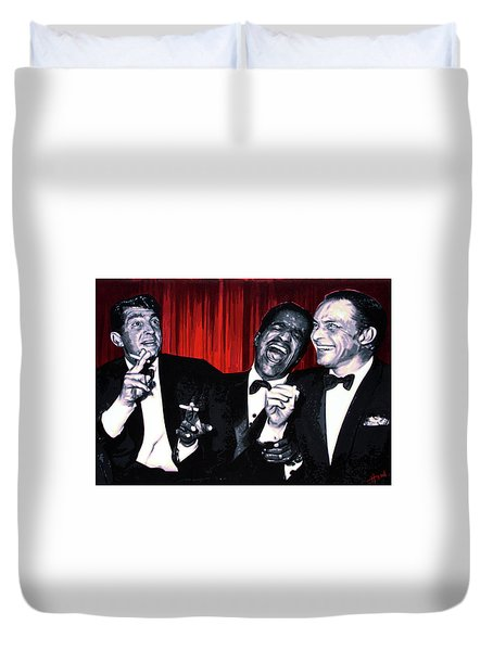 Rat Pack Duvet Cover
