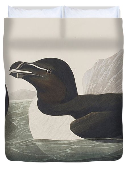 Razor Bill Duvet Cover