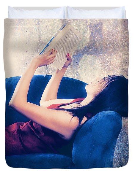 Reading Duvet Cover by Joana Kruse