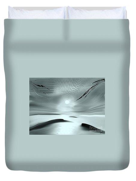 Sparkling In The Sand 2 Duvet Cover