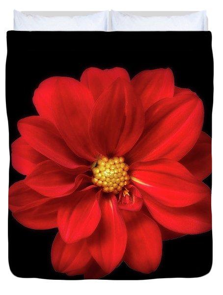 Red Summer Memory 2 Duvet Cover