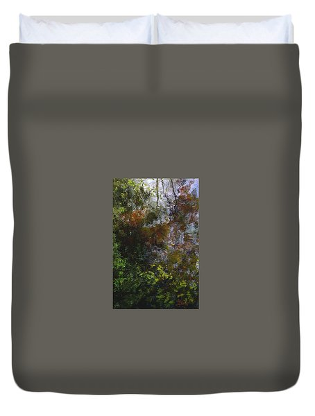 Duvet Cover featuring the photograph Reflections  by Jim Vance