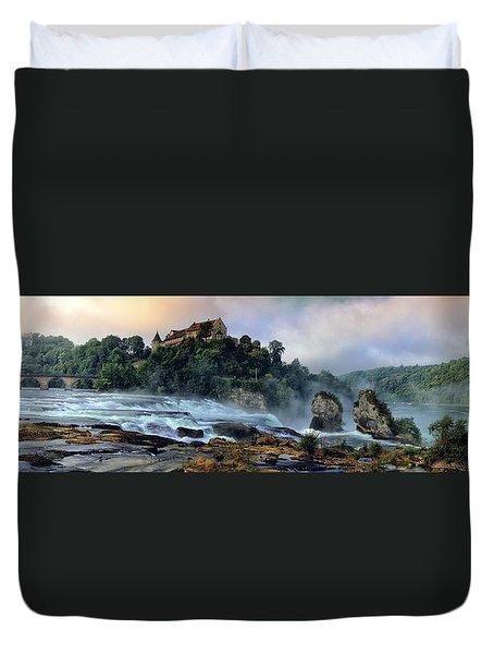Rhinefalls, Switzerland Duvet Cover