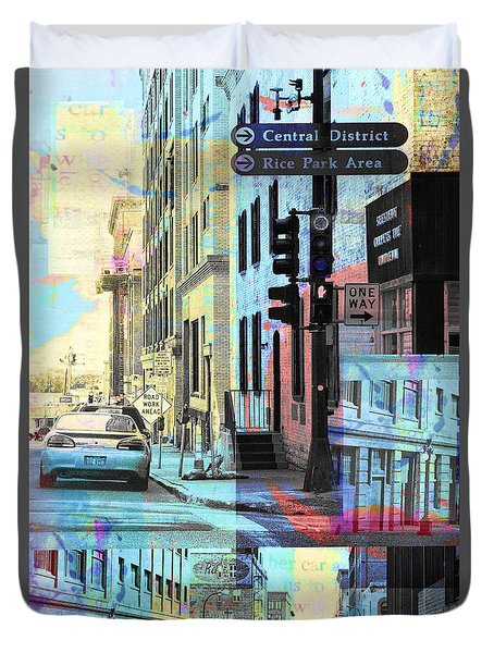 Rice Park St. Paul Duvet Cover