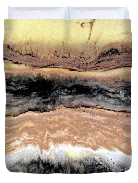 Riding The Storm Out Duvet Cover