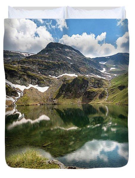 Rila Mountain Duvet Cover by Evgeni Dinev
