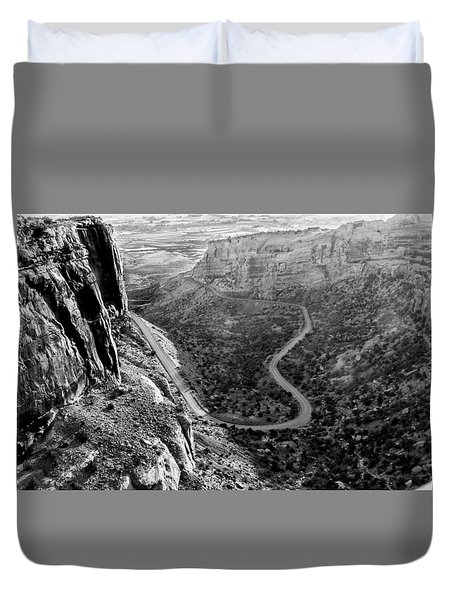 Rim Rock Drive Duvet Cover