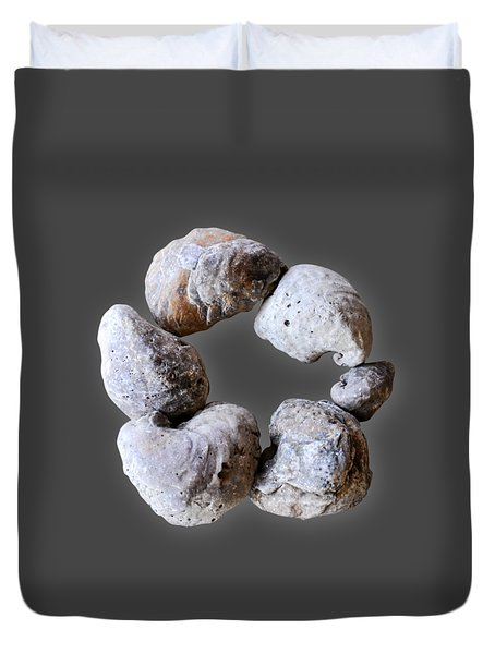 Ring Of Fossils Duvet Cover