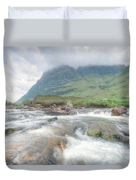 River Coe Duvet Cover by Ray Devlin
