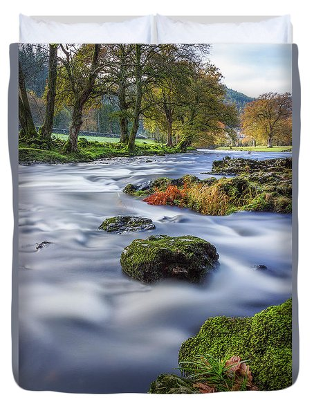 River Llugwy Duvet Cover