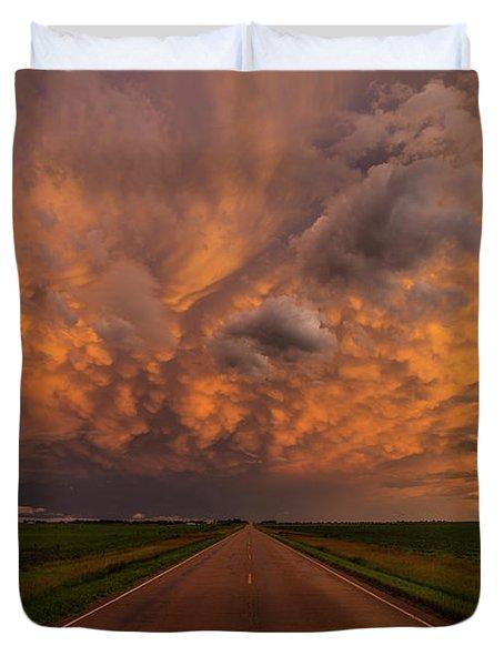 Road To Mammatus  Duvet Cover