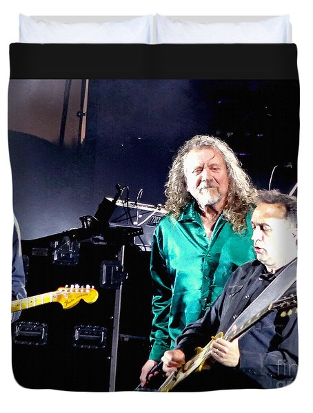 Robert Plant And The Sensational Space Shifters.1 Duvet Cover
