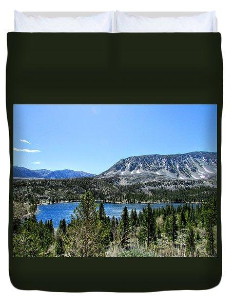 Rock Creek Lake Duvet Cover