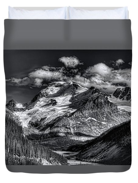 Rocky Mountain High Duvet Cover by Wayne Sherriff