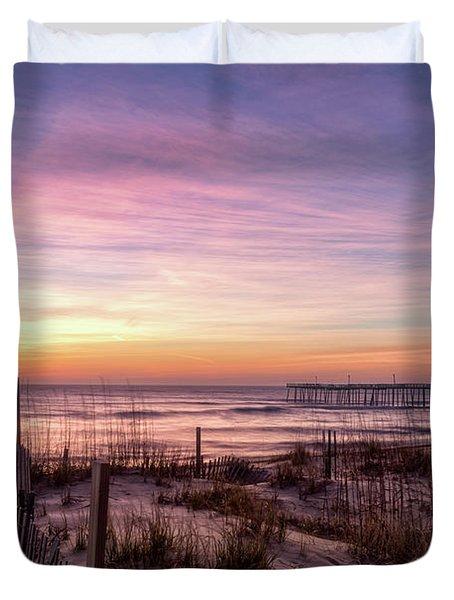 Rodanthe Sunrise Duvet Cover
