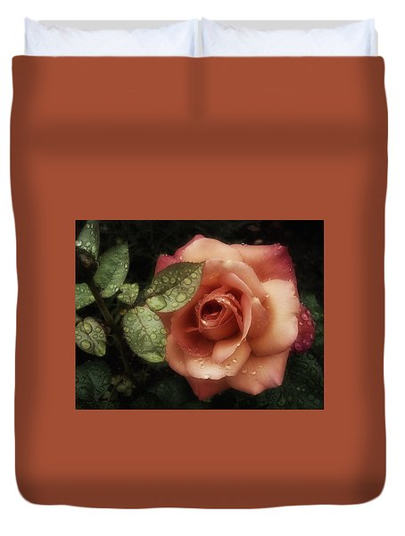 Romancing The Rose Duvet Cover