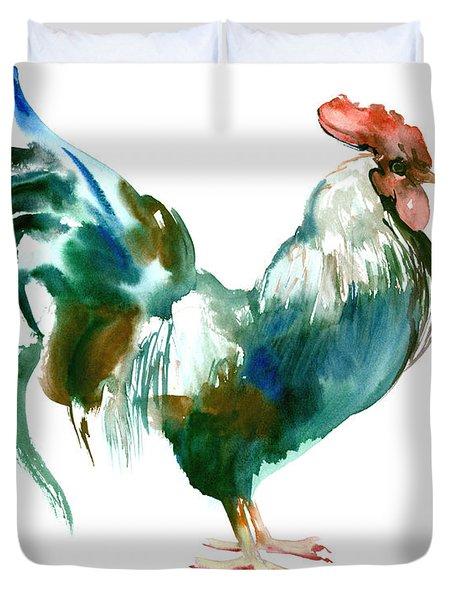 Rooster Duvet Cover by Suren Nersisyan