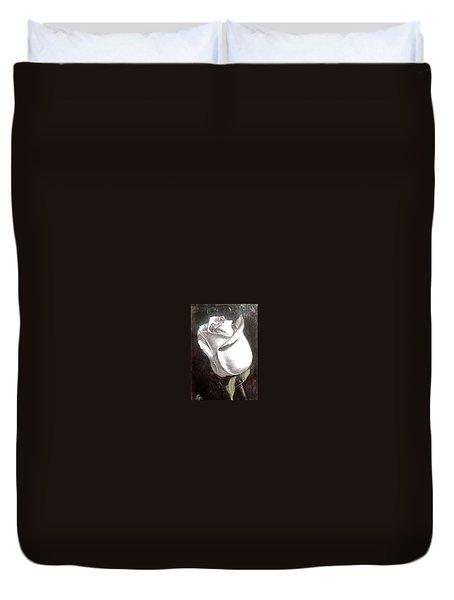 Rose 2 Duvet Cover by Natalia Tejera